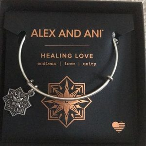 Alex and Ani healing love bracelet NEW in box